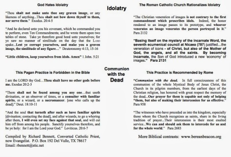 Christianity vs. Catholicism pt4